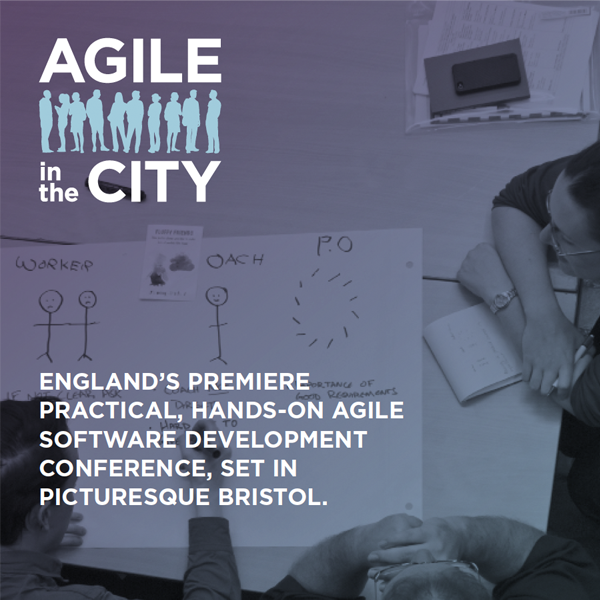 Agile in the City: Bristol Promo Poster